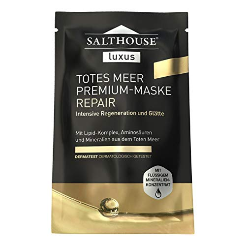Salthouse Luxus Totes Meer Premium REPAIR MASKE - 10 Einheiten mit je 2 x 5ml (für 20 Anwendungen)