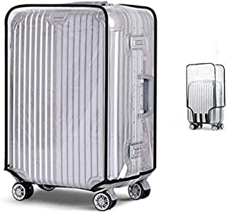 "Clear PVC Travel Luggage Protector Suitcase Covers Suitcase Protective Cover 20"" 22"" 24"" 26"" 28"" 30''"