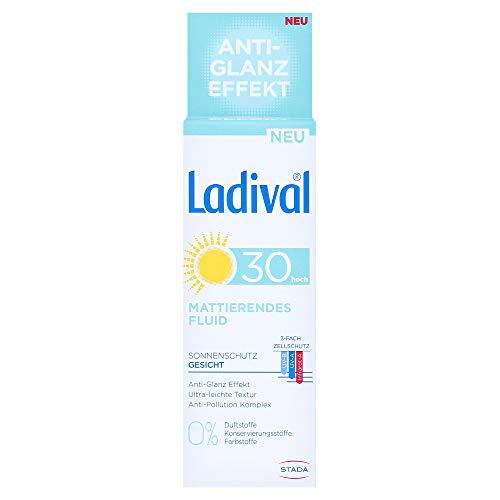 Ladival Sonnenschutz Gesicht Mattierendes Fluid LSF 30+, 50