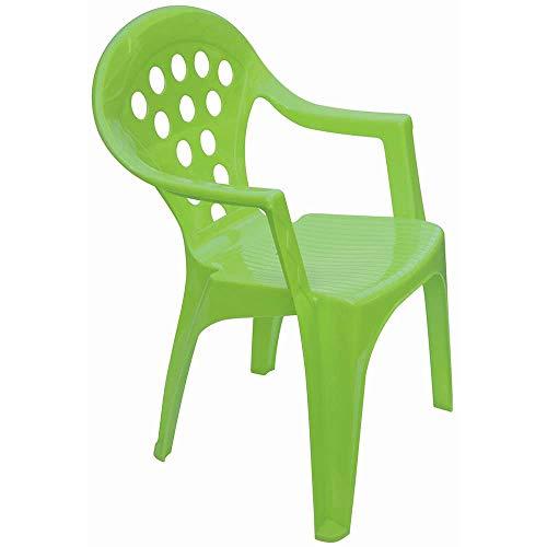 AVANTI TRENDSTORE - Bitti - Sedia da Gioco per la stanzetta dei Tuoi Bimbi, Fabbricato in plastica Sintetica. I Colori della Sedia Non potranno Essere scelti.