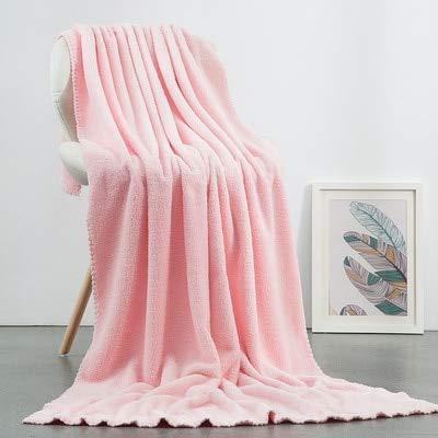 UKKD Toalla 180 * 90 Cm Súper Absorbente Cara Grande / Toalla De Baño Toalla De Baño Suave Suave Toallas Cómodas Toallas De Playa 6 Colores