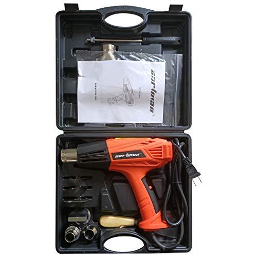 CARTMAN ProTect 1500W double température 9-Piece 2-Speed ??Heat Kit pistolet dans Carry Case