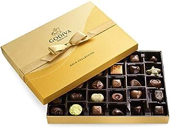 36-Count Godiva Chocolatier Chocolate Gold Gift Box