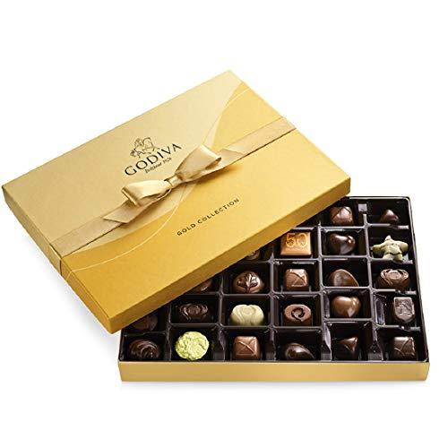 Godiva Chocolatier Assorted Chocolate Gold Gift Box, 36-Ct.