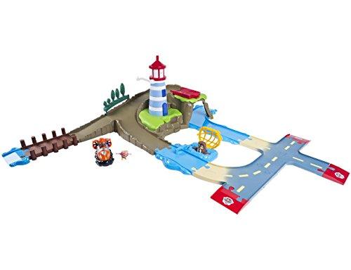 Paw Patrol Figurine Et Véhicule De La Pat'Patrouille Dans La Jungle Spin Master Toys UK Ltd 20079018-6033377 Jungle Rescue Zuma Et Aéroglisseur