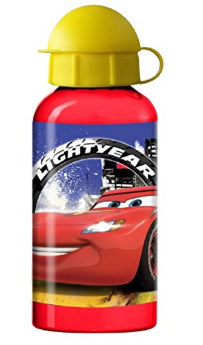 Cars Kinder-Trinkflasche Aluminium 400 ml