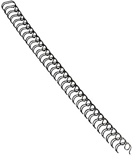 """Fellowes Wire Binding Spines, 3/8"""", Holds 80 Sheets, Black, 25 Pack (52541)"""