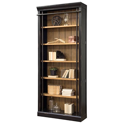 Martin Furniture Fully Assembled Aged Ebony Toulouse Bookcase,