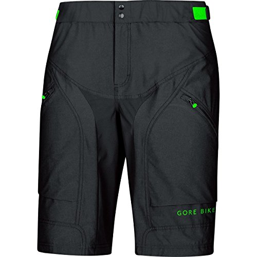 GORE WEAR Herren Hose und Shorts Kurze Power Trail, Black, M