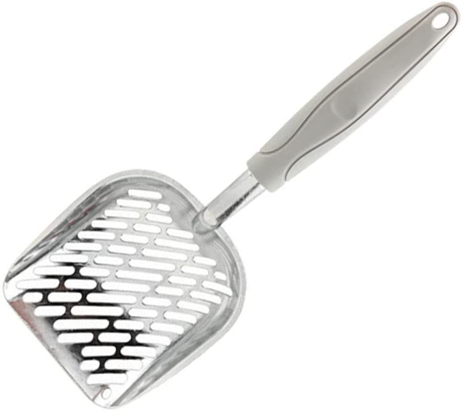 CROWNXZQ Cat Litter Scoop Metal Poop Deep Dallas Mall fo Sifter with Shovel Quantity limited