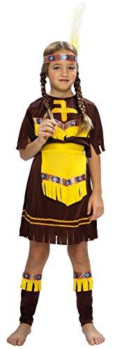 Disfraz de India para niña de 7 a 9 años