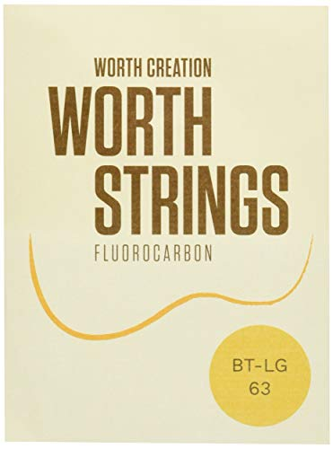 Worth Strings, Low-G Ukulelen-Saiten, Brown Fluoro-Carbon, für Tenor-Ukulele, Medium (0.0224-0.0260-0.0291-0.0358)