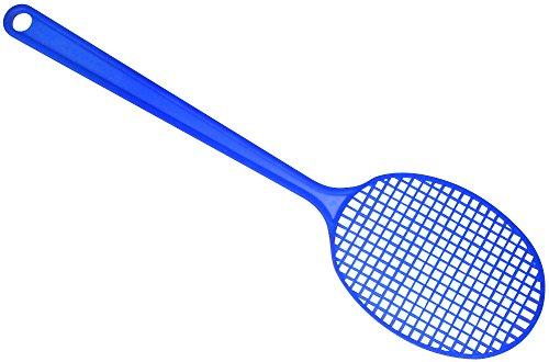 Preisvergleich Produktbild FACKELMANN 44652 Mini-Fliegenklatsche Tecno,  Insektenschutz mit Aufhängöse (Farbe: Gelb,  Grün,  Rot,  Blau-Nicht frei wählbar),  Menge: 1 Stück,  Kunststoff