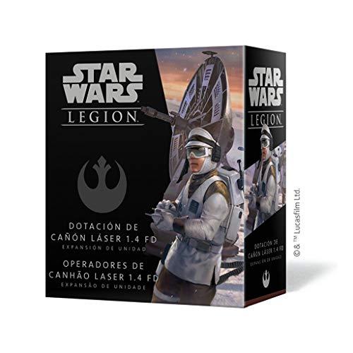 Fantasy Flight Games- Star Wars Legion: Dotacion De Cañon Laser 1.4 Fd -...