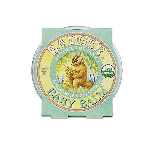 Badger Company Baume pour bébé, camomille et calendula, 56 g