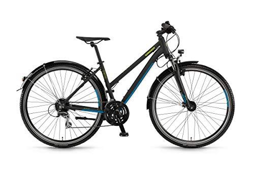 Unbekannt Winora Vatoa 24 Damen Trekkingrad schwarz matt/RH 44 cm / 28 Zoll