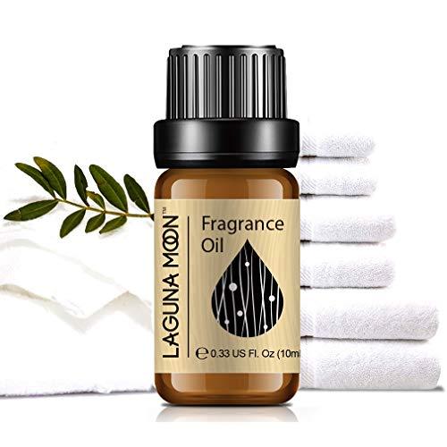 Lagunamoon Duftöle, Ätherische Öle für Luftbefeuchter, Aromatherapie Öl 10ml - Frische Bettwäsche