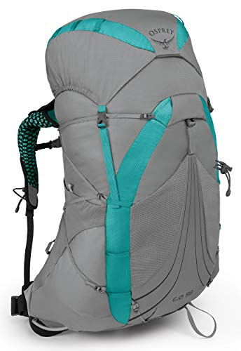 Osprey Packs Eja 58 Women's Backpacking Pack, Moonglade Grey, Small