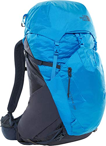 The North Face Hydra 38 Hiking Backpack - Urban Navy/Bomber Blue, Large/X-Large
