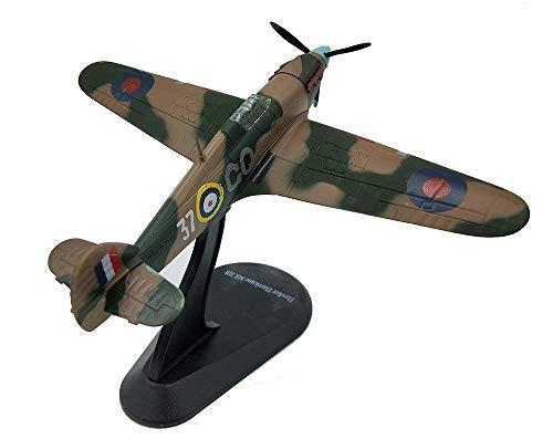 Sólido 1: 144 Militares de Aeromodelismo, la Segunda Guerra Mundial Reino Unido huracán Mkii combatiente de la modelo acabado, juguetes de niños y objetos de colección (5.4Inch veces; 6.7inch) Interes