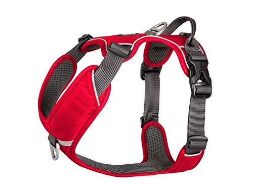Dog Copenhagen Harnais Confort Walk Pro pour Chien Rouge Taille XL