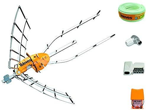 Kit Creado por TECNOVOZ de la Marca Antena TELEVES HD 148922 (Corte...