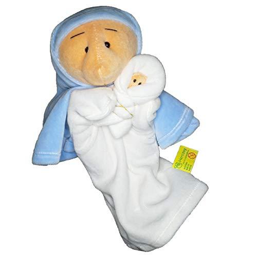 Herczog Bábstúdió Handpuppe Maria mit Jesuskind