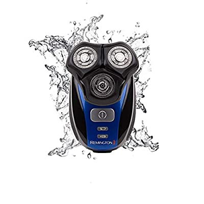 Remington Men's Flex 360 Rotary Electric Head Shaver for Skull and Face, 100 Percent Waterproof with Detail Trimmer - XR1400 by Remington