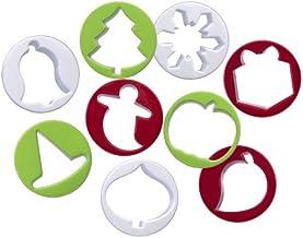 Progressive International 9 Piece Holiday Cookie Cutters Set