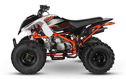 Cenkoo ATV 125cc Halbautomatik mit 3 Vorwärts- und 1 Rückwärtsgang Weiß