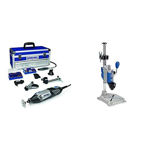 Dremel Platinum Edition 4000-6/128 - Multiherramienta (175 W, 6 complementos, 128 accesorios) & Workstation - Centro de trabajo para Dremel (TM) (220)