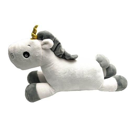 Rainbow Fox Unicorn peluche animaux Soft Pillow Coussin décoratif Taille 50 cm