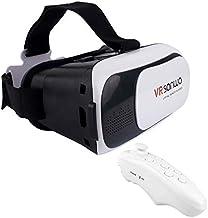 DoDoo VR SANWO 3D Virtual Reality Glasses Cardboard Movie Game Plus Bluetooth Gamepad by DoDoo