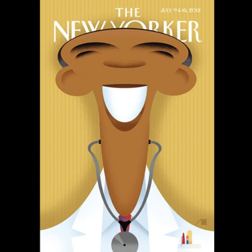 The New Yorker, July 9th & 16th 2012: Part 1 (Nathan Heller, Tessa Hadley, Jeffrey Toobin) cover art