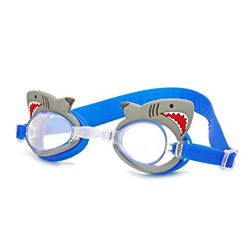SWJJ Gafas natación Soft Seal niños Gafas antiniebla