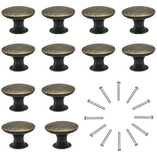Pomelli per Porta 12 Pezzi Manopole per Mobili da Cucina Pomelli per Mobili Vintage Shabby Pomelli per Cassetti/Cucina/Armadio Antichi