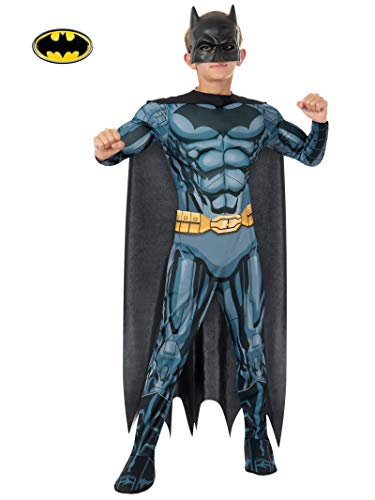 Batman Deluxe Kostüm für Kinder, Größe:L