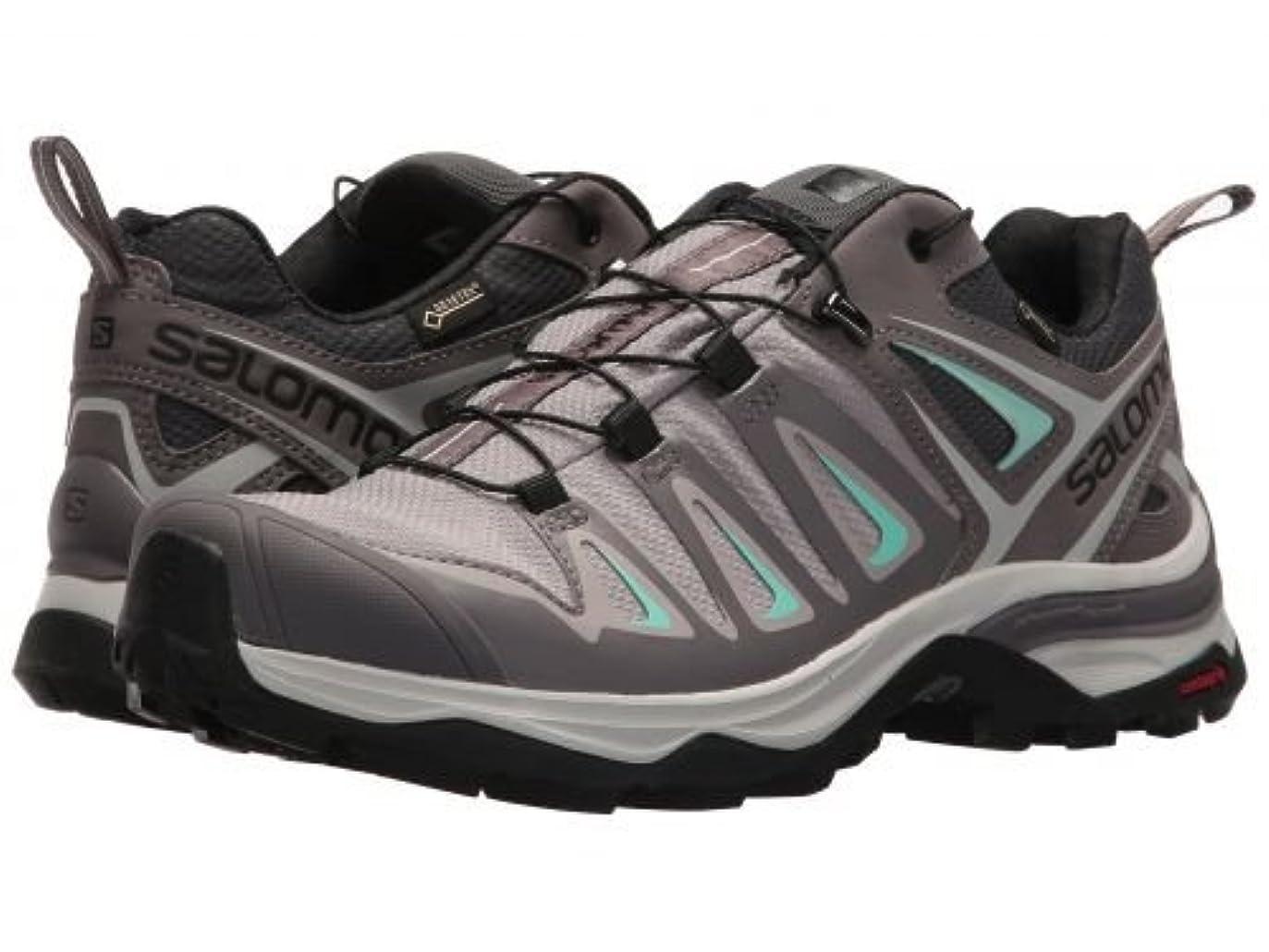泥棒投獄引き出しSalomon(サロモン) レディース 女性用 シューズ 靴 スニーカー 運動靴 X Ultra 3 GTX(R) - Magnet/Shark/Beach Glass [並行輸入品]