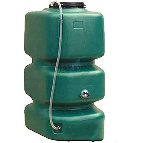 Suinga DEPOSITO POLIETILENO agua de lluvia 1000 LITROS. Largo 77 cm, Ancho 105 cm, Alto 174 cm. Para recuperación de agua de lluvia en el jardín o en la bodega.