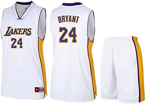 NBA Los Angeles Lakers Kobe Bryant #24 Men's Basketball Jersey ...