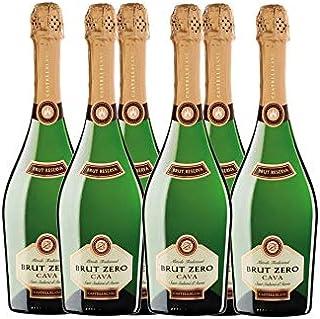 Castellblanch - Cava Brut Zero Reserva Botella - 75 cl - Pack de 6 botellas - 4500ml