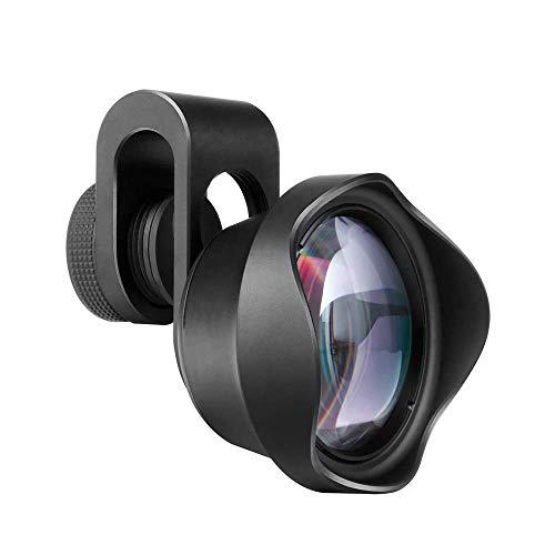 SYLOZ-URG Lente Profesional, Lente de la cámara 2X Macro ángulo con Funda de Silicona y Soporte de la Lente for la mayoría de Smartphone SYLOZ-URG