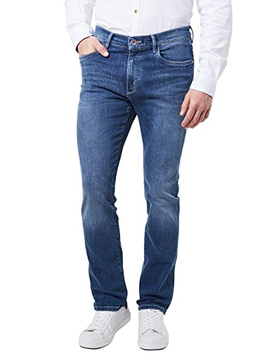 Pioneer Herren Rando RED Edition Straight Jeans, Blau (Stone Used with Buffies 372), W44/L34