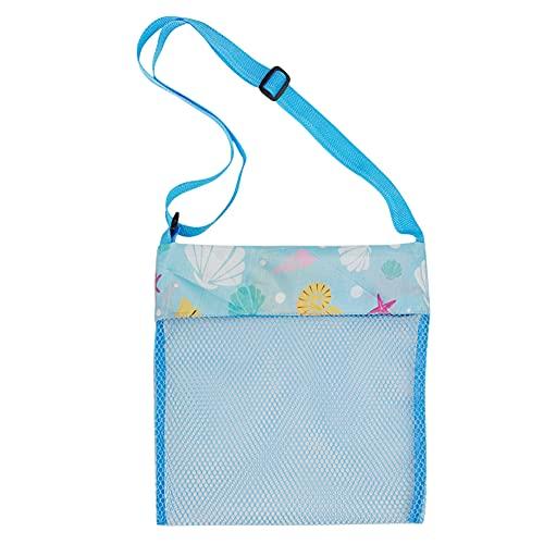 soloplay Kinder Strand Netz Tasche 23 * 23cm Baby Spielzeug Outdoor Shell Storage Network Mesh Taschen Strand Aufbewahrungstasche Strandtasche