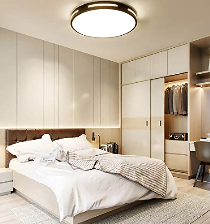 DENG LED-Deckenleuchte, minimalistischer minimalistischer Stil - geeignet für Badezimmer Wohnzimmer Flur Treppenhaus Schlafzimmer (Durchmesser 23-50 cm, 220 V, 12 W - 36 W)