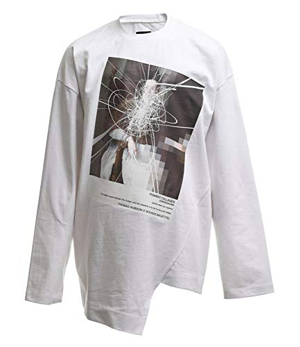 BMUET(TE) Korean Fashion Designer Sounds White Gallery T-Shirt (Small)