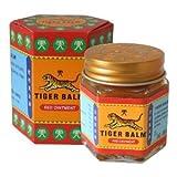 Tiger Balm - Balsamo Tigre, 1 vasetto da 30gr, colore: rosso