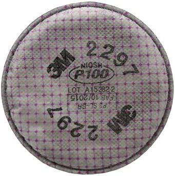 3M Advanced Particulate Filter with Nuisance Level Organic Vapor Relief
