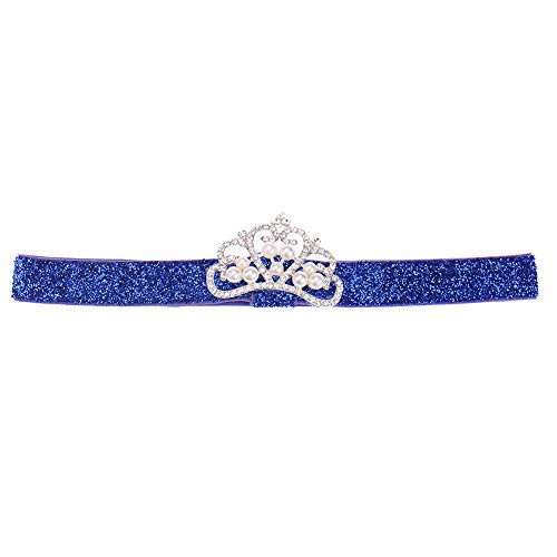 Crystal Crown Fille Princesse bébé Enfants Bandeau élastique Hairband Décor cheveux