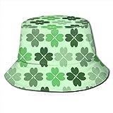 GodYo Bucket Hat Packable Reversible St. Patrick's Day Print Sun Hat Fisherman Hat Cap Camping al Aire Libre